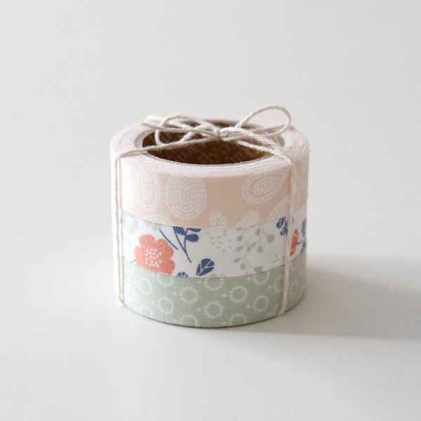 [Dailylike] Fabric Tape 3 Set - 49. Weddin...  Made in Korea